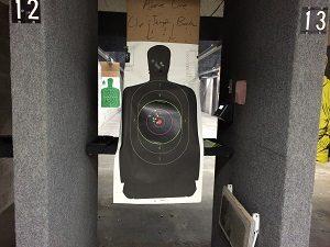 Shooting Range Target