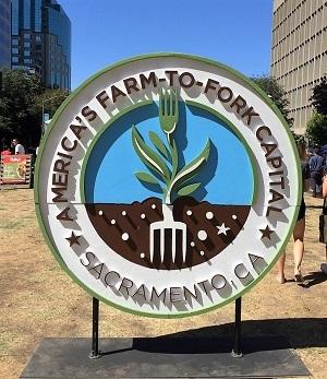 Farm-To-Fork Festival Sign