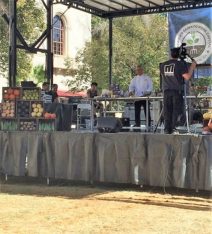 Farm-To-Fork Festival Cooking Demo