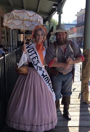 Gold Rush Days Volunteer Actors