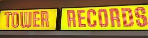 Picture of Tower Records Neon Sign