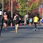 Runners at California International Marathon