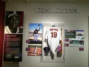 Tony Gwynn California Hall of Fame Exhibit