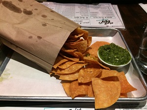 Tortilla Chips & Salsa from El Rey