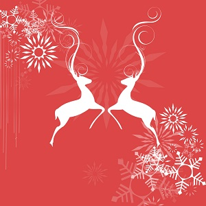 Holiday Traditions White Deers