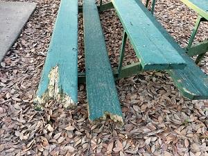 Picture of McKinley Park Bleachers