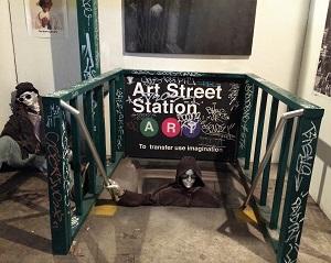 Picture of ArtStreet Exhibit