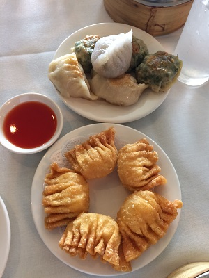 Picture of assorted New Canton dim sum