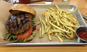 Picture of Skool Fish HouseTurkey Burger