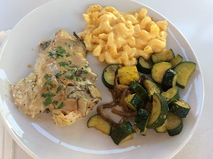 Picture of Selland's Market-Cafe Mushroom Chicken & two side dishes