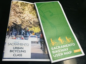 Picture of Urban Cycling handbook and map
