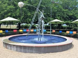 Picture of Bistro Don Giovanni Fountain in Napa Valley