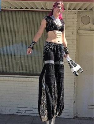 Picture of Jenna at Sacramento's Arts & Culture Scene Event