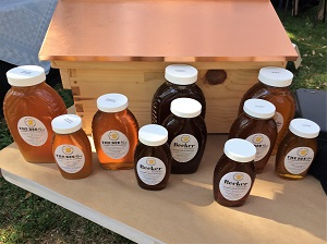 Picture of the Bee Box Honey at the River City Marketplace