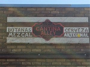 Picture of Cantina Alley signage