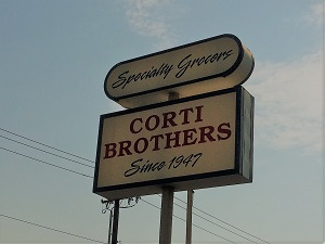 Picture of Corti Brothers Sign