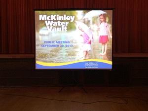 Picture of McKinley Water Vault screen