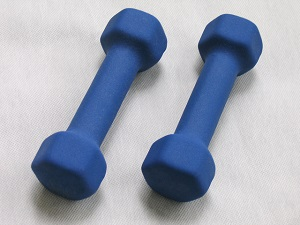 Picture of dumbells