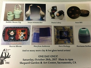 Picture of Shepard Garden and Art Center Art by File postcard