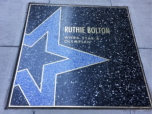 Picture of Bolton star on the Sacramento Walk of Stars