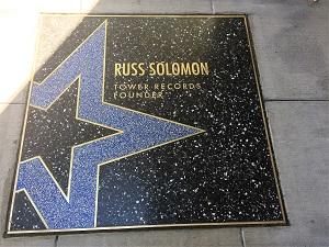 Picture of Russ Solomon star on the Sacramento Walk of Stars