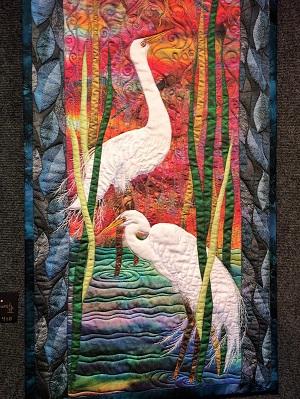 Picture of Crocker Holiday Artisan Fabric Art