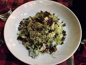 Photo of the Red Rabbit Shaved Brussel Sprouts Salad