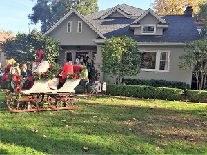 Picture of home on the Sacred Heart Holiday Home Tour