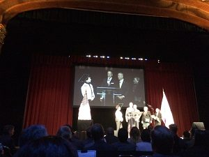 Picture of awards presentation at the State of the City