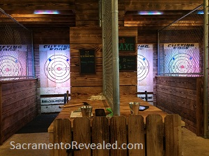 Photo of Sauced Axe Throwing Cages
