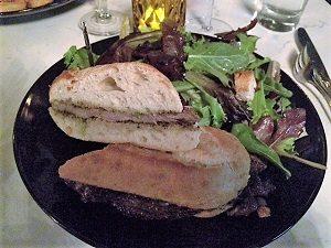 Picture of Ten Ten Room Garlic Steak Sandwich