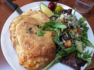 Picture of Paesanos Meatball Calzone