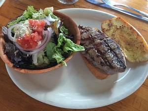 Picture of The Virgin Sturgeon Steak Sandwich