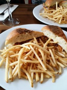 Picture of Celestin's Chicken Creole Sandwich