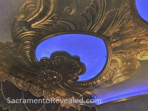 Photo of the Crest Theatre Ceiling (partial)