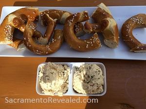 Photo of Der Biergarten Pretzels With Beer cheese