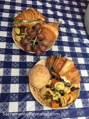 Photo of Sacramento Farm-to-Fork Festival Golden 1 provided lunch