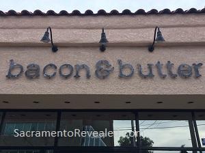 Photo of Bacon & Butter East Sacramento Signage