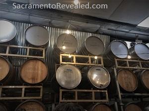 Photo of Revolution Winery & Kitchen barrels