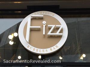 Photo of Fizz Champagne & Bubbles Bar Signage