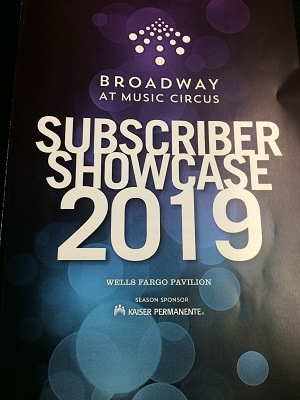 Photo of 2019 Broadway at Music Circus Program