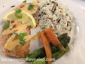 Photo of Casa Garden Restaurant Salmon