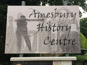 Photo of Amesbury History Centre Signage