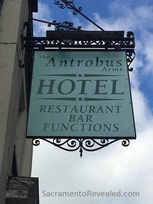 Photo of Antrobus Arms Hotel Signage