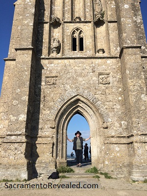 Photo of Ruined Tower on top of Glastonbury Tor
