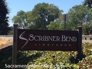 Photo of Scribner Bend Vineyards Sign