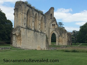 Photo of Glastonbury Abbey