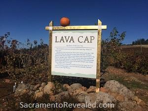 Photo of Lava Cap Winery Signage