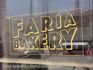Photo of Faria Bakery Signage
