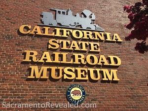Photo of California State Railroad Museum Signage
